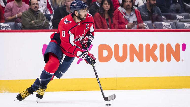 17октября. Вашингтон. «Вашингтон»— «Торонто»— 4:3. Александр Овечкин. Фото NHL