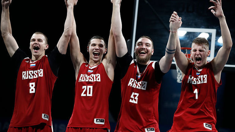 Баскетболисты сборной России завоевали золото наВсемирных пляжных играх. Фото awbgqatar.com