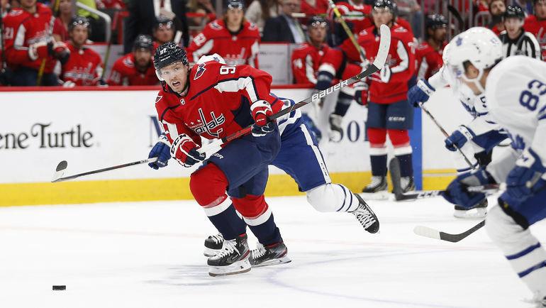 17октября. Вашингтон. «Вашингтон»— «Торонто»— 4:3. Ватаке Евгений Кузнецов. Фото USA TODAY Sports