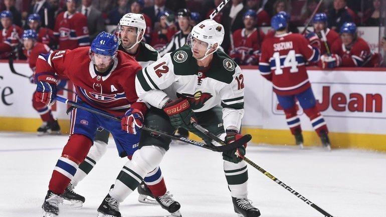 Будущая команда Кирилла Капризова «Миннесота» проиграла «Монреалю»— 0:4. Фото НХЛ