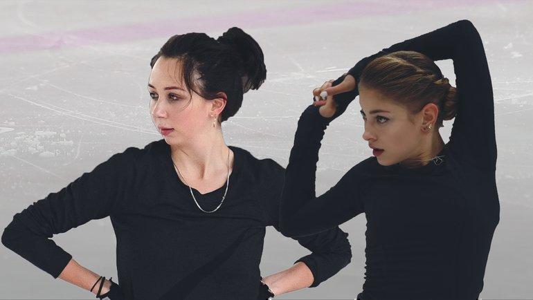 Елизавета Туктамышева иАлена Косторная.