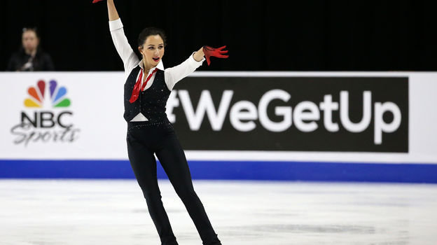 19октября. Лас-Вегас. Елизавета Туктамышева. Фото USA Today Sports
