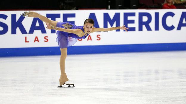 19октября. Лас-Вегас. Анна Щербакова. Фото USA Today Sports