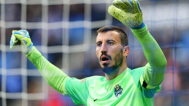 «Арсенал»— «Сочи»— 1:1, вратарь «Сочи» Сослан Джанаев отбил два пенальти, видео