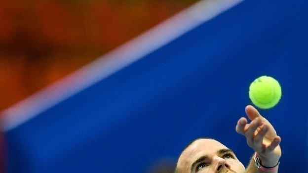 20октября. Москва. Адриан Маннарино. Фото AFP