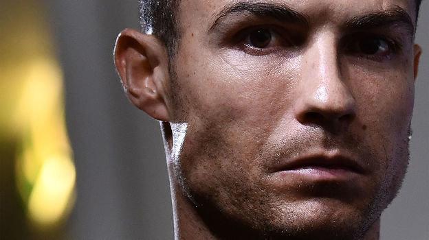 21октября. Турин. Криштиану Роналду напресс-конференции «Ювентуса». Фото AFP