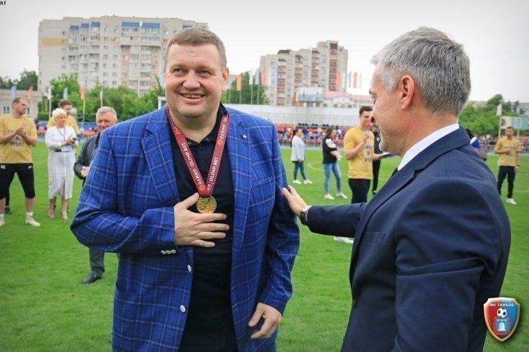 Павел Худяков. Фото fc-tambov.ru
