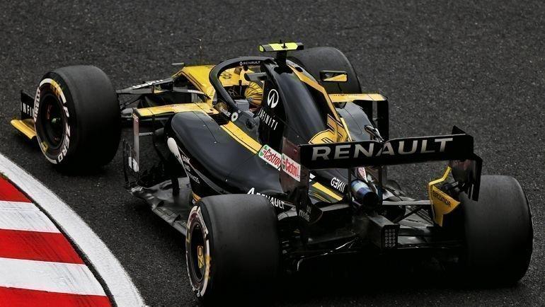 Пилоты «Рено» лишились очков за «Гран-при Японии». Фото twitter.com/renaultf1team
