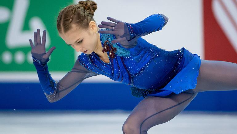 26октября. Келоуна. Александра Трусова. Фото USA Today Sports