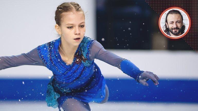 Александра Трусова установила на «Гран-при Канады» два мировых рекорда. Фото USA Today Sports