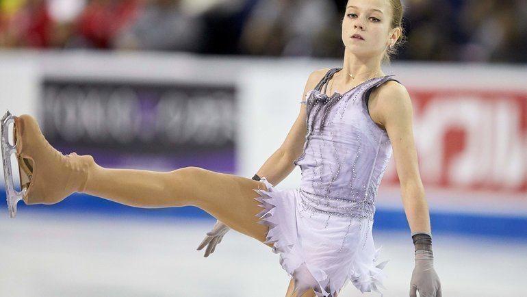 Александра Трусова. Фото Reuters