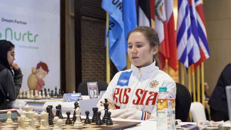 Полина Шувалова. Фото изархива Михаила Кобалии