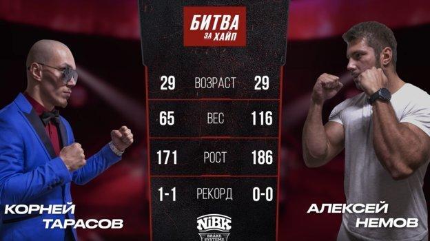 Корней Тарасов vs Алексей Немов.