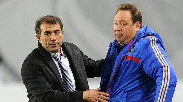 Рашид Рахимов (слева) иЛеонид Слуцкий. Фото Алексей Иванов, -