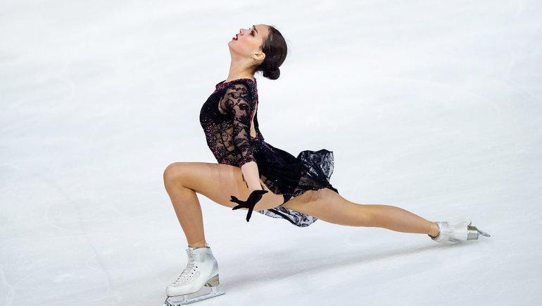 Алина Загитова. Фото ISU