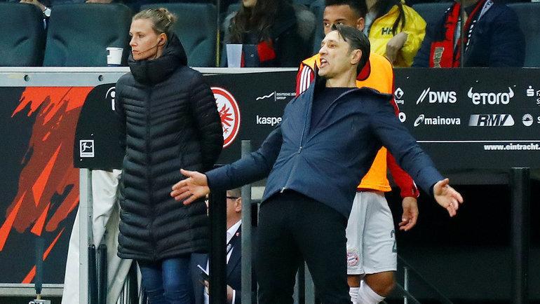 Уволен главный тренер футбольного клуба «Бавария» Нико Ковач