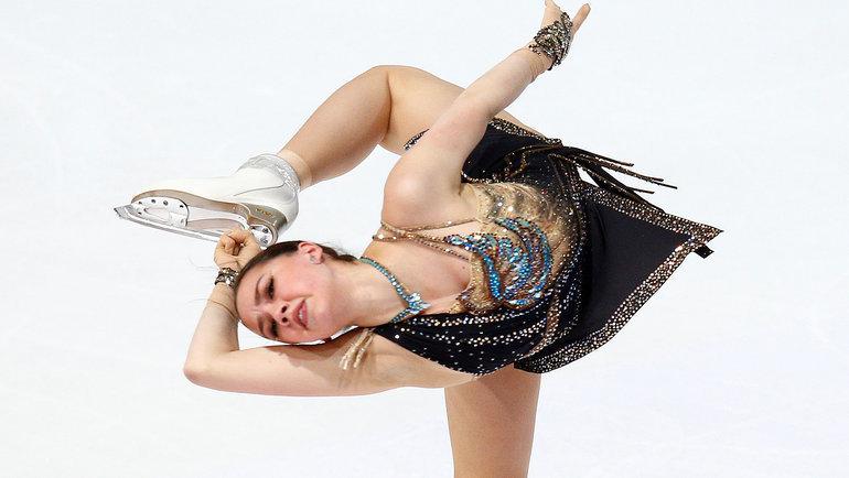 2ноября. Гренобль. Алина Загитова вовремя исполнения произвольной программы. Фото Reuters