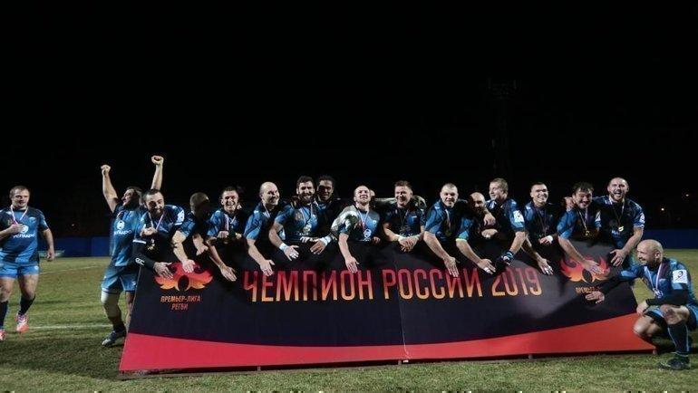 «Енисей-СТМ»— десятикратный чемпион России.
