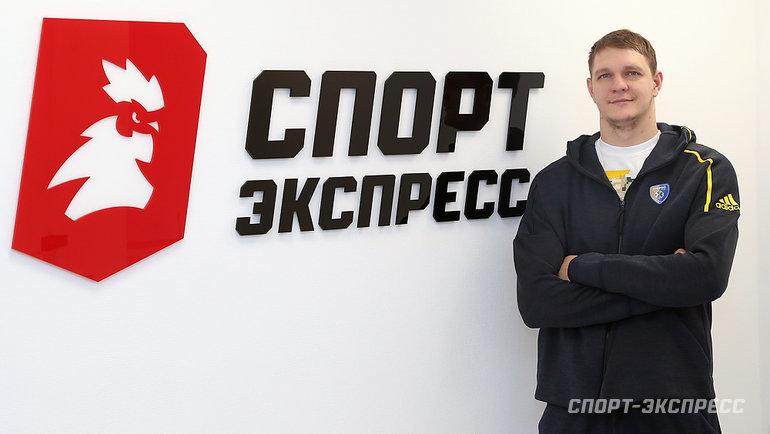 4ноября. Москва. Тимофей Мозгов вредакции «Спорт-Экспресс».