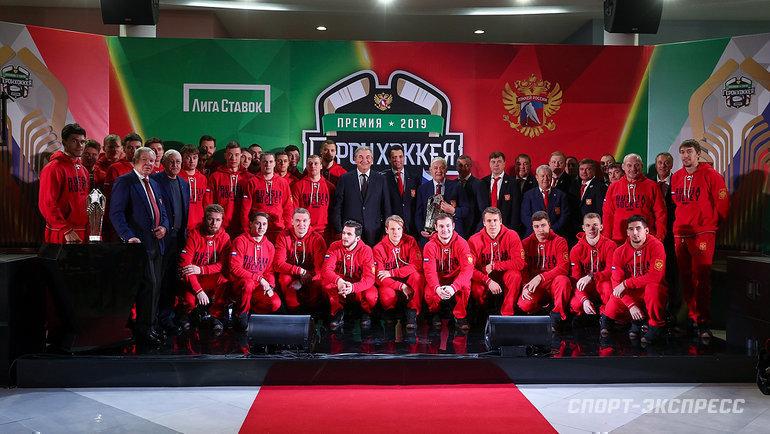 5ноября. Новогорск. Церемония награждения премией «Герои хоккея 2019».