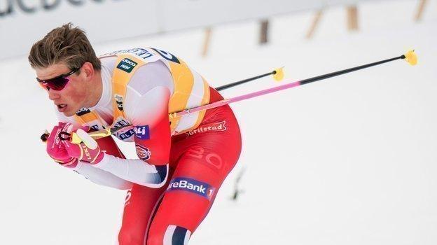 Йоханнес Клебо. Фото AFP