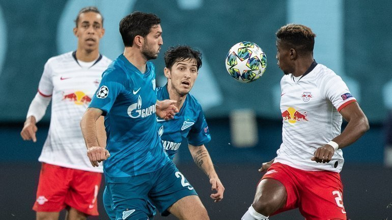Новости спорта футбол зенит монако