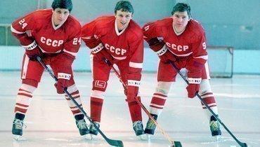 Сергей Макаров, Игорь Ларионов, Владимир Крутов.