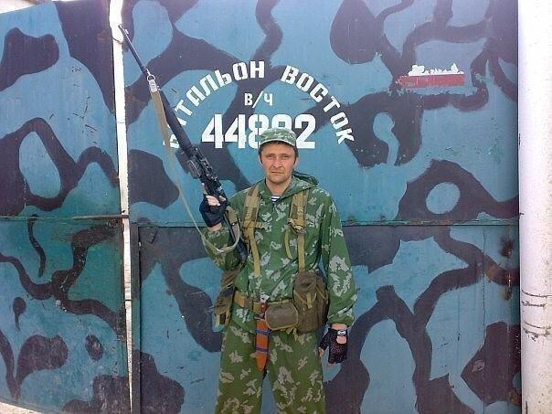 Сослуживец Максима Перова. Фото Фото изличного архива Максима Перова.