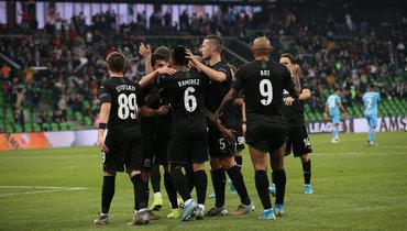 7ноября. Краснодар. «Краснодар»— «Трабзонспор»— 3:1. «Быки» вовторой раз обыграли турецкую команду.
