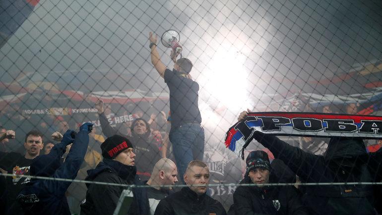 7ноября. «Ференцварош»— ЦСКА. Фото Reuters