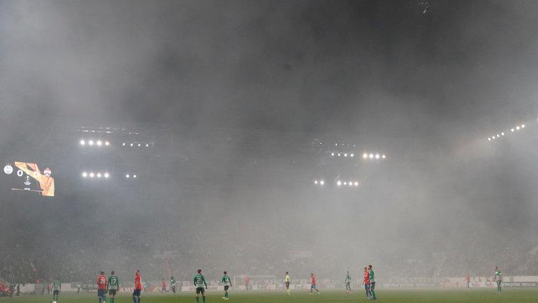 ЦСКА без побед вэтой Лиге Европы. Фото Reuters
