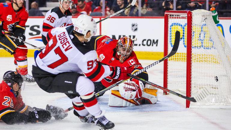 Никита Гусев забил впервые затри недели. Фото USA Today Sports