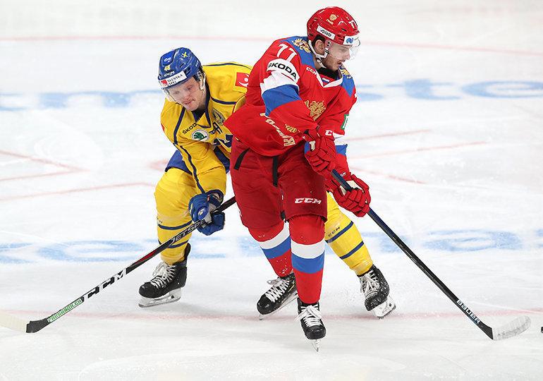 Такой Евротур круче КХЛ. Россия чуть неупустила победу над Швецией