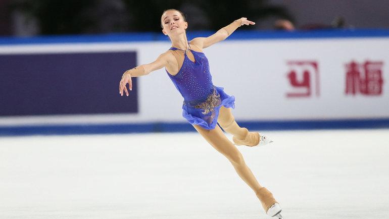 Анна Щербакова. Фото AFP
