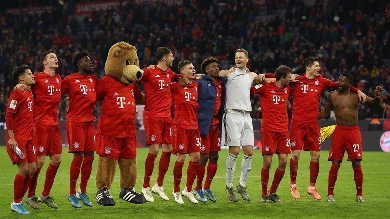 «Бавария» разгромила дортмундскую «Боруссию». Без основного тренера