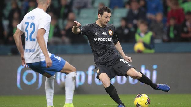 10ноября. Сочи. «Сочи»— ЦСКА— 2:3. Алан Дзагоев.