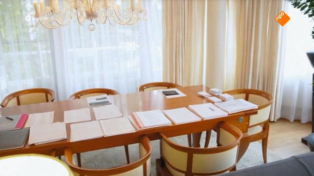 Рабочий стол Леонида Слуцкого.