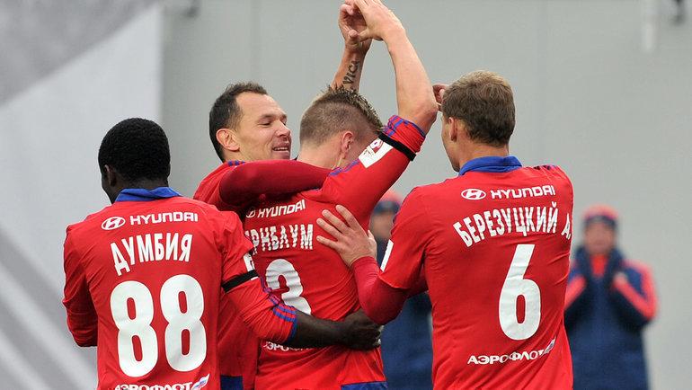 ЦСКА в2015-м году. Фото Алексей Иванов