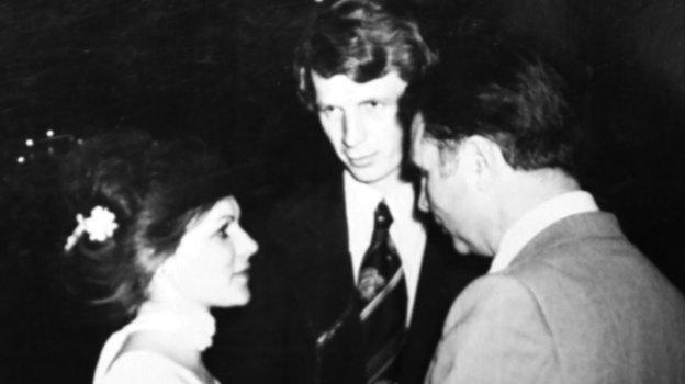 Сергей и Наталья Гимаевы с Виктором Тихоновым. Фото из архива Сергея Гимаева