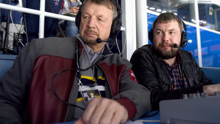 Сергей Гимаев иРоман Скворцов. Фото Юрий Кузьмин, photo.khl.ru