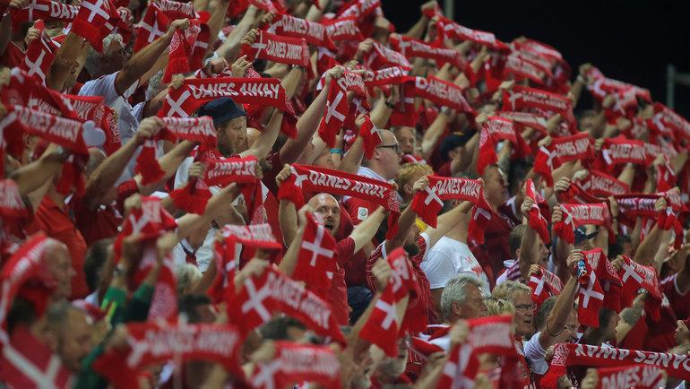 Выход Дании вфинальный турнир Евро-2020 может повлиять надомашние игры России вСанкт-Петербурге. Фото Reuters
