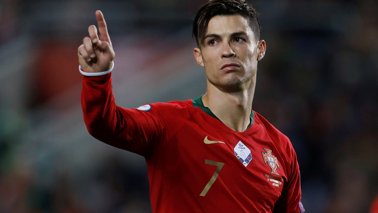 14ноября. Фару. Португалия— Литва— 6:0. Криштиану Роналду. Фото Reuters