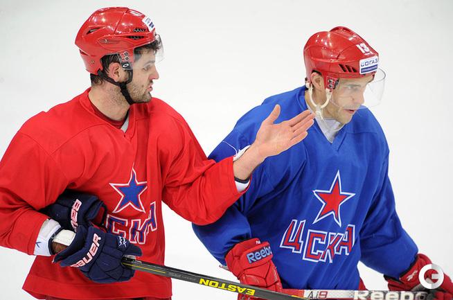 Александр Радулов и Павел Дацюк.