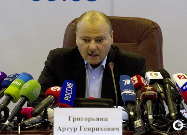 И.о. главы КДК - Артур Григорьянц.