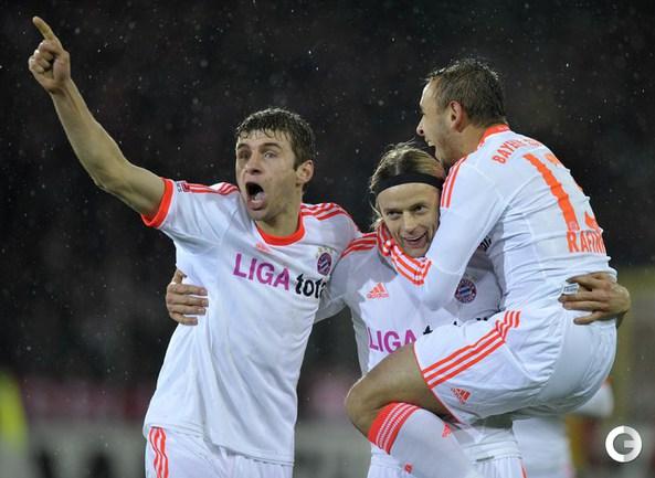 """Фрайбург"" - ""Бавария"" - 0:2. Анатолий Тимощук отметился забитым голом."