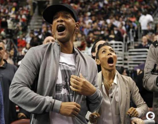 Актер, певец Уилл СМИТ и его жена, актриса Джада ПИНКЕТТ-СМИТ. Фото REUTERS.