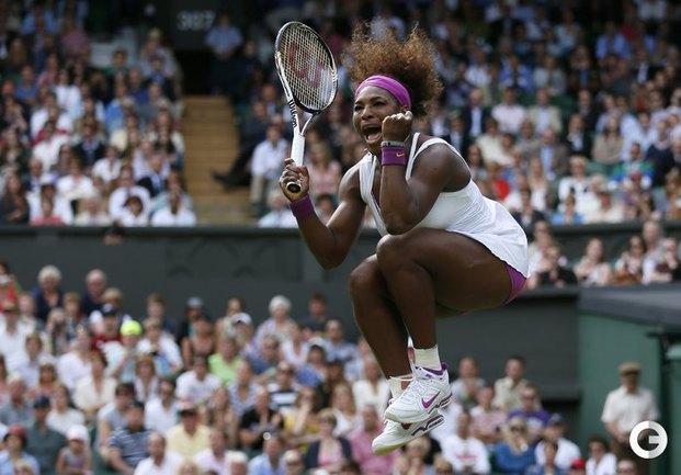 Серена Уильямс выиграла Уимблдон.