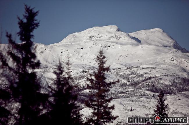 Горы в Норвегии невысокие, но кататься позволяют.