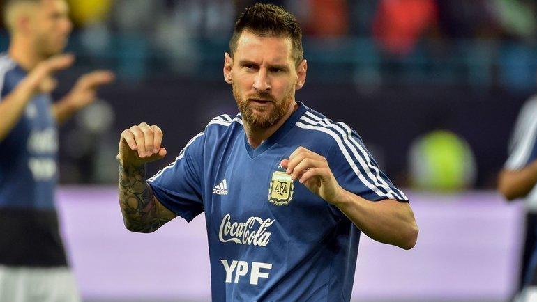 15ноября. Эр-Рияд. Бразилия— Аргентина— 0:1. Лионель Месси. Фото AFP