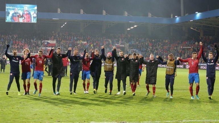 Чехия— вфинальном турнире чемпионата Европы. Фото AFP